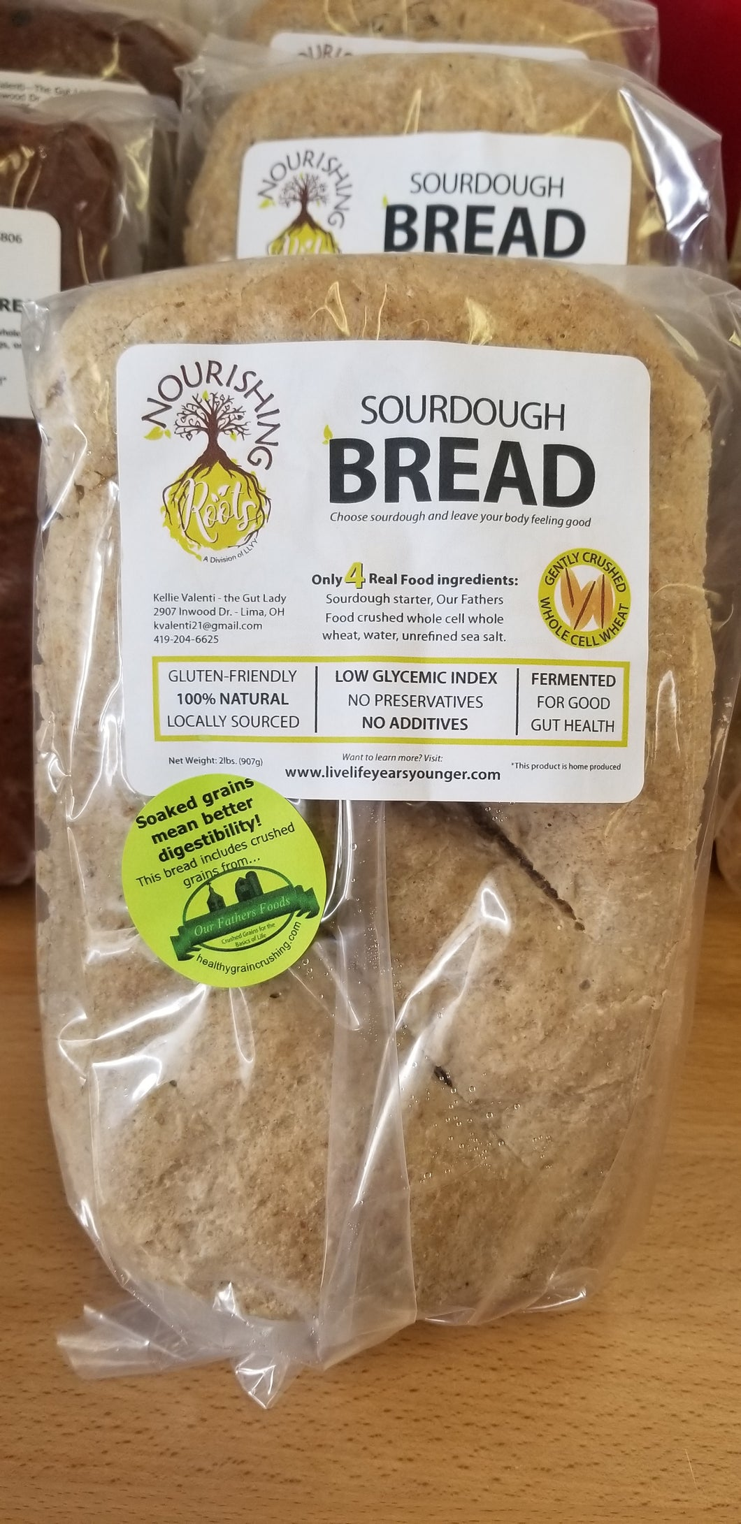 Nourishing Roots Sourdough Bread