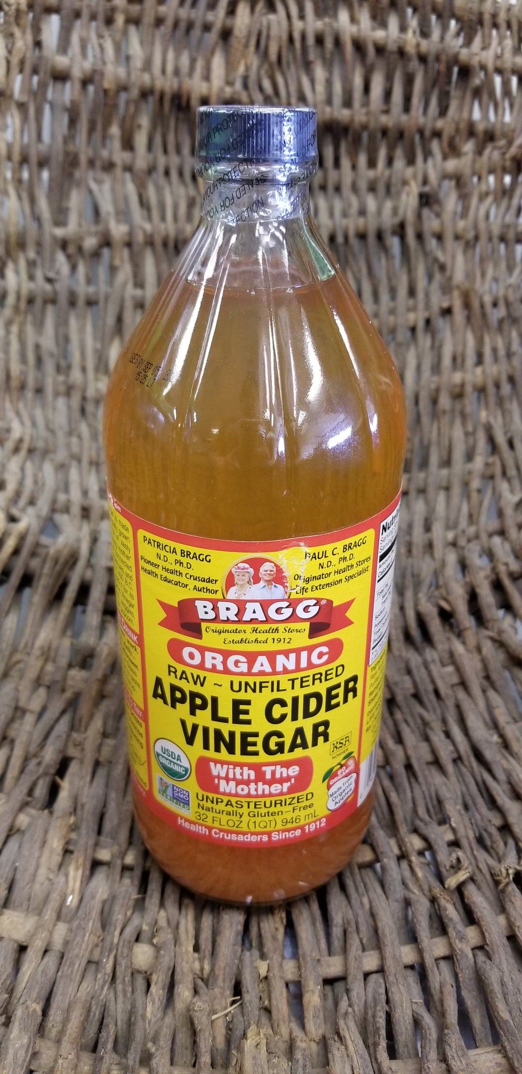 Bragg Organic Apple Cider Vinegar (32 fl oz)