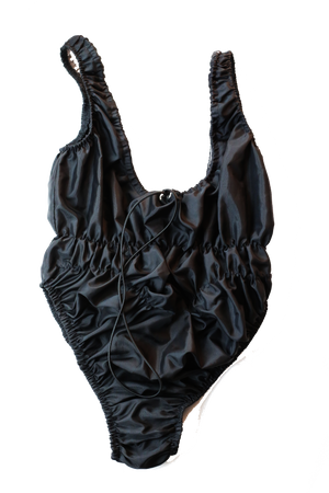 black water proof bodysuit