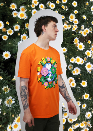 'Plant friends' Organic cotton tshirt