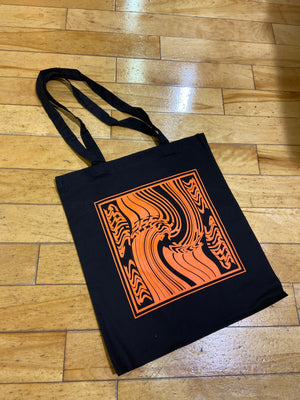 'Warped' Tote bag