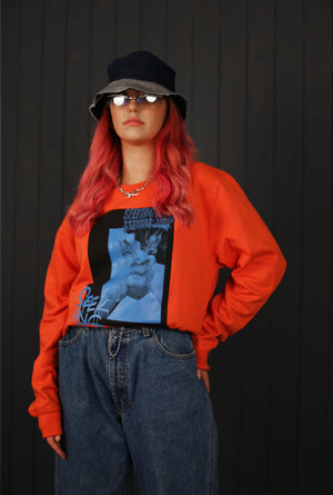 'Stressed out' Orange sweatshirt