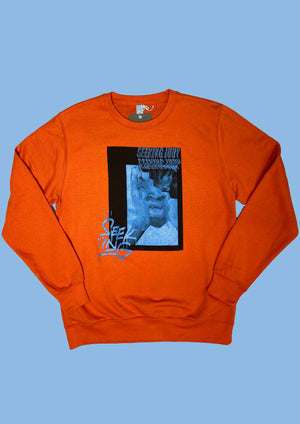 'Stressed Out' Burnt Orange sweatshirt