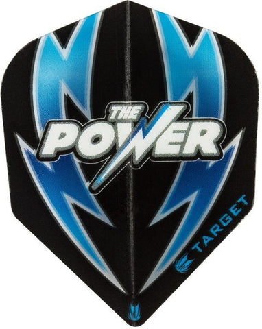 Target Power ARC Bolt Black Blue Standard Shape Phil Taylor Dart Flights