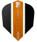 Target Raymond van Barneveld Ultra Vision No6 Black and Orange Stripe Dart Flights
