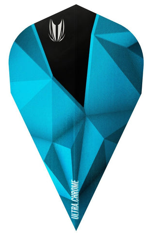 SHARD ULTRA CHROME AZZURRI VAPOR DART FLIGHTS