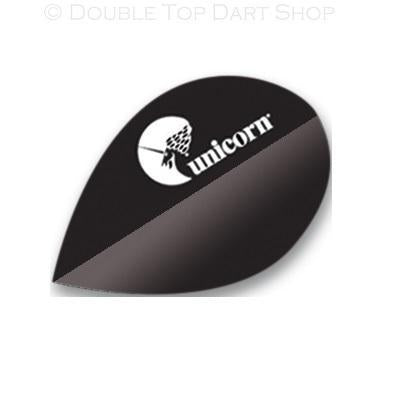 Unicorn Maestro 100 Black Logo Pear Shape Dart Flights