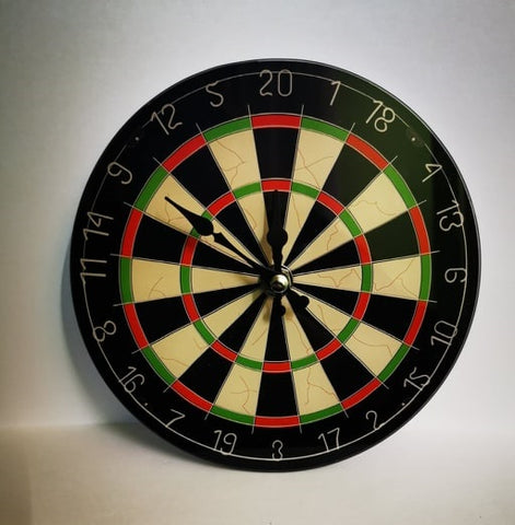 DARTSLINE WATCH WALL DART BOARD GLASS