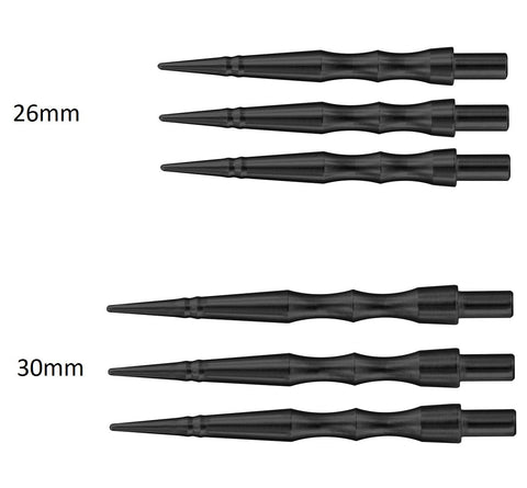 HARROWS APEX SABRE BLACK REPLACEMENT DART POINTS