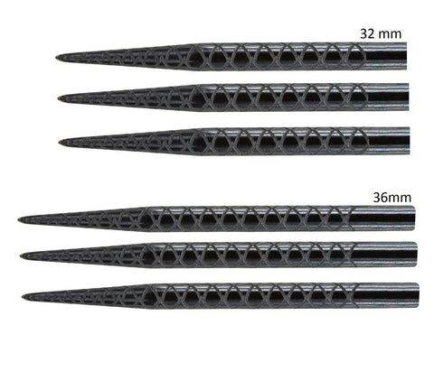 Target Diamond Cut Black Replacement Dart Points
