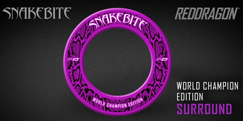 PRE ORDER : SNAKEBITE WORLD CHAMPION EDITION SURROUND-COMING SOON