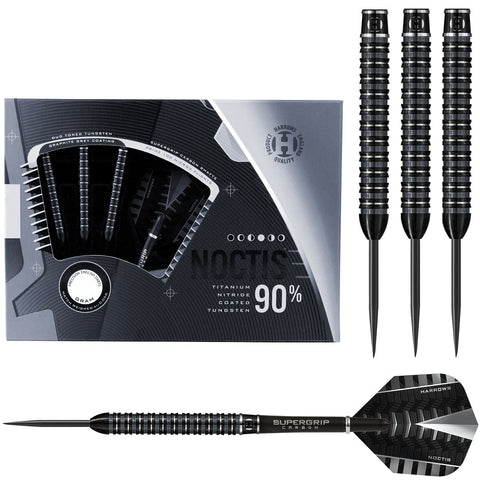 HARROWS NOCTIS PARALLEL 90% TUNGSTEN STEEL TIP DARTS