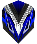 HARROWS PRIME VESPA BLUE / BLACK DARTS FLIGHTS