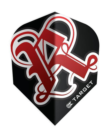 Target Pro 100 Vision Rebel Standard Shape Dart Flights