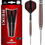Mission Reiki Darts - Electro Red