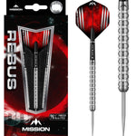 MISSION REBUS DARTS STEEL TIP TUNGSTEN PRECISION MILLING M3