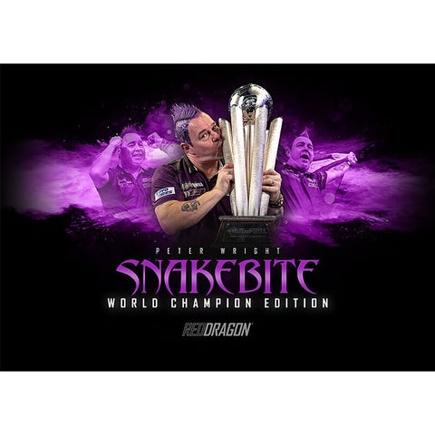 PRE ORDER : SNAKEBITE WORLD CHAMPION EDITION TOUR SHIRT