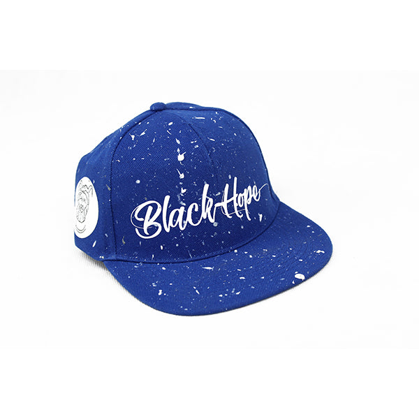 Snapback Black Hope Logo Edition - Blu Royal