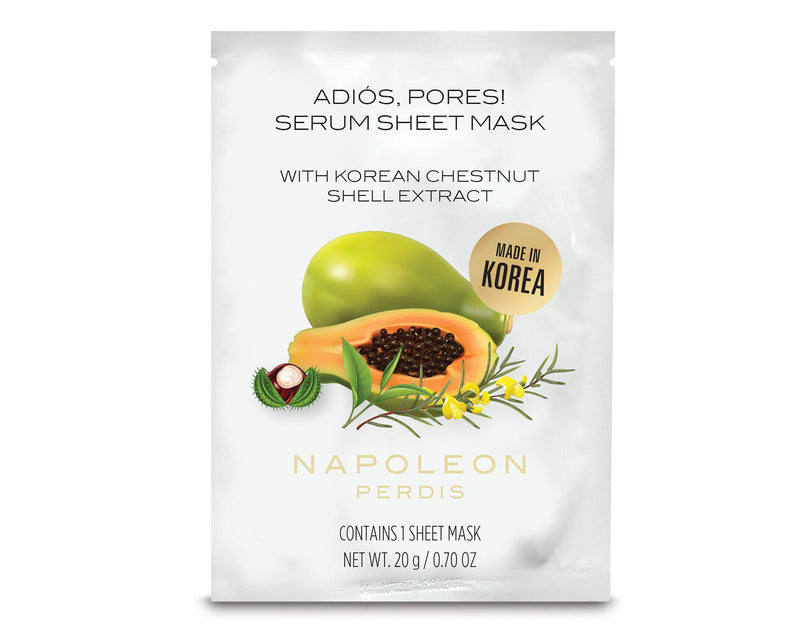 Adios, Pores Serum Sheet Mask-