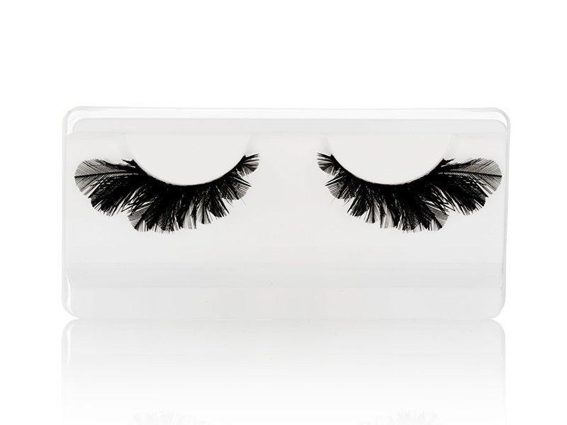 Lashes Satin Flower-