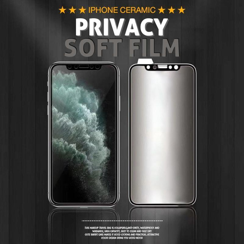 iPhone Ceramic Privacy Soft Film