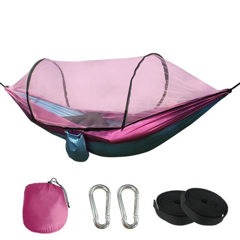 Fully-Automatic Speed-Open Hammock With Net