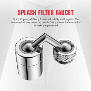(Factory Outlet - 50% OFF)Universal Splash Filter Faucet