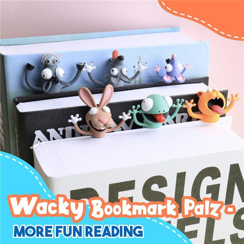 Wacky Bookmark - More Fun Reading