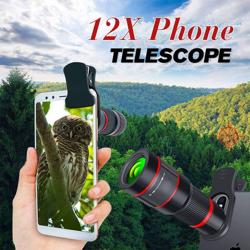 12X Phone Telescope