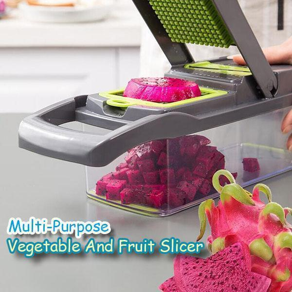 Multi-Purpose Vegetable And Fruit Slicer