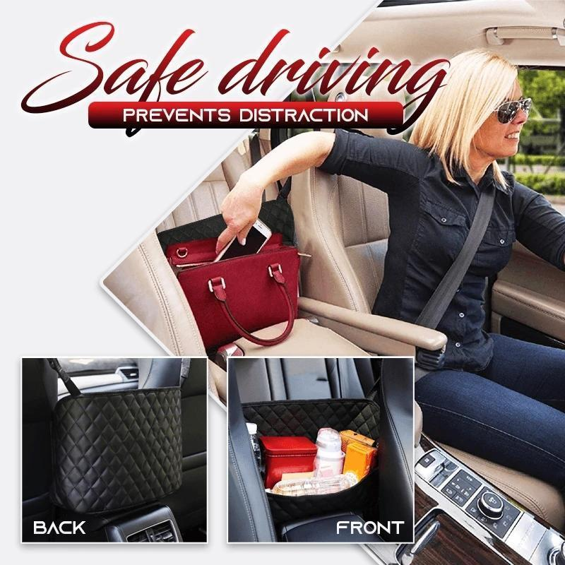 Car Seat Storage And Handbag Holding Net