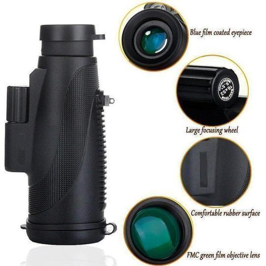 2020 New 40X60 High-resolution Waterproof Monocular Telescope