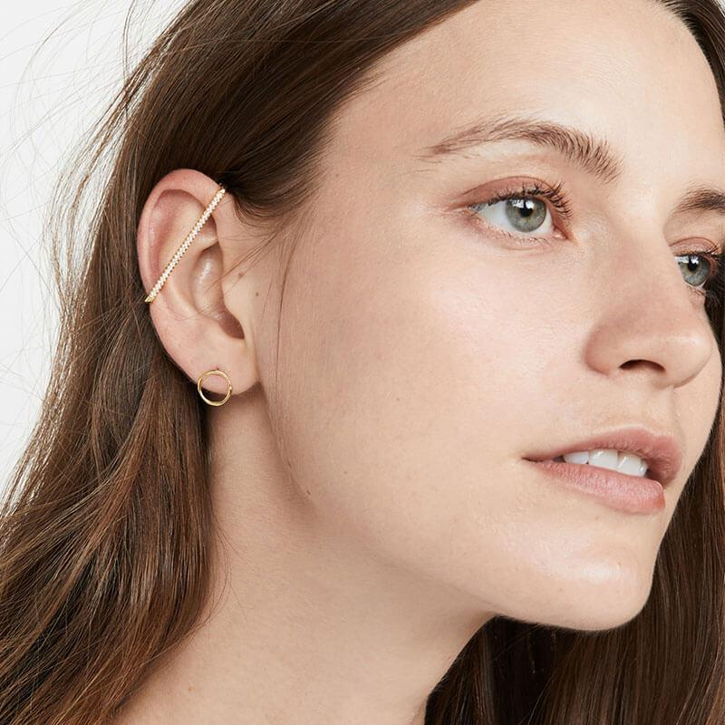 Simple And Stylish Geometric Earrings
