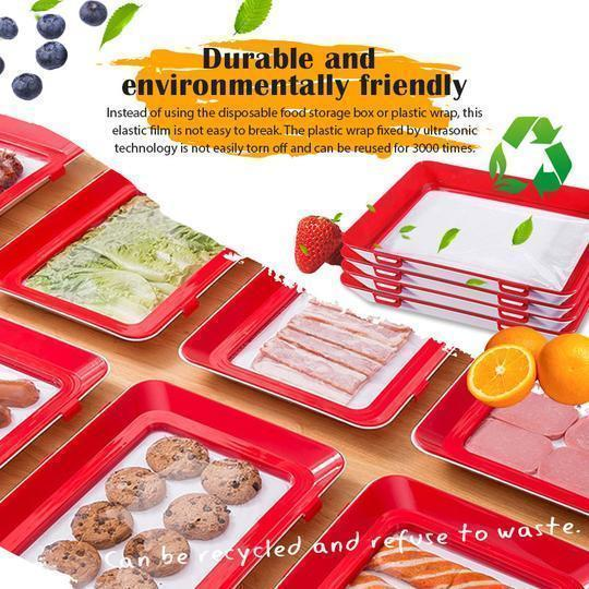 Rectangular Creative Food Preservation Tray