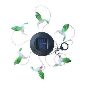 Solar Powered Wind Chimes Lights