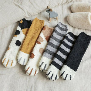 Cat Paw Indoor Socks