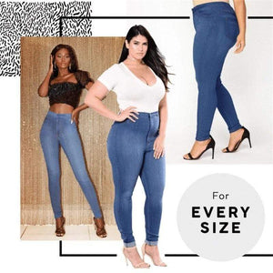 Button-Free Sharping Jeans Leggings(On promotion)