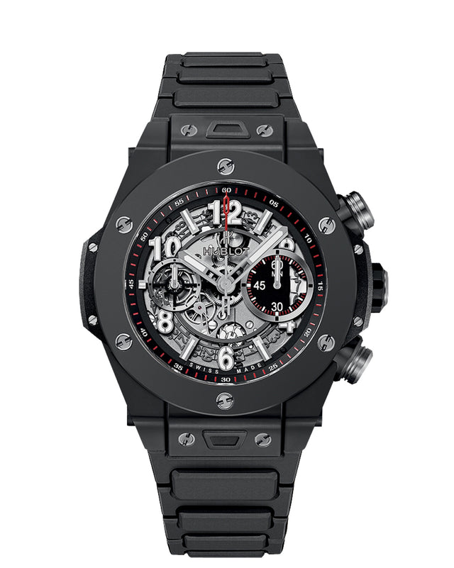 HUBLOT BIG BANG UNICO BLACK MAGIC BRACELET 42MM