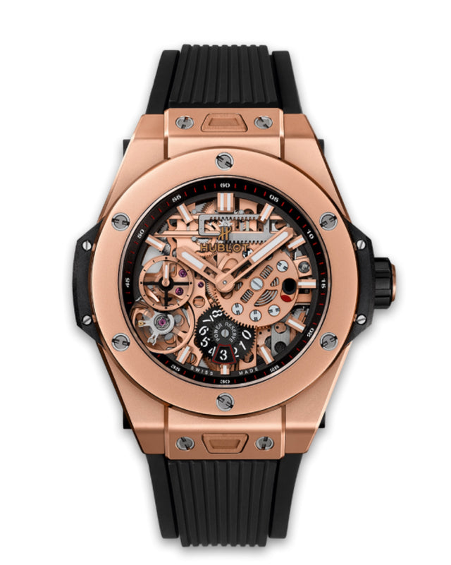 HUBLOT BIG BANG MECA-10 KING GOLD 45MM