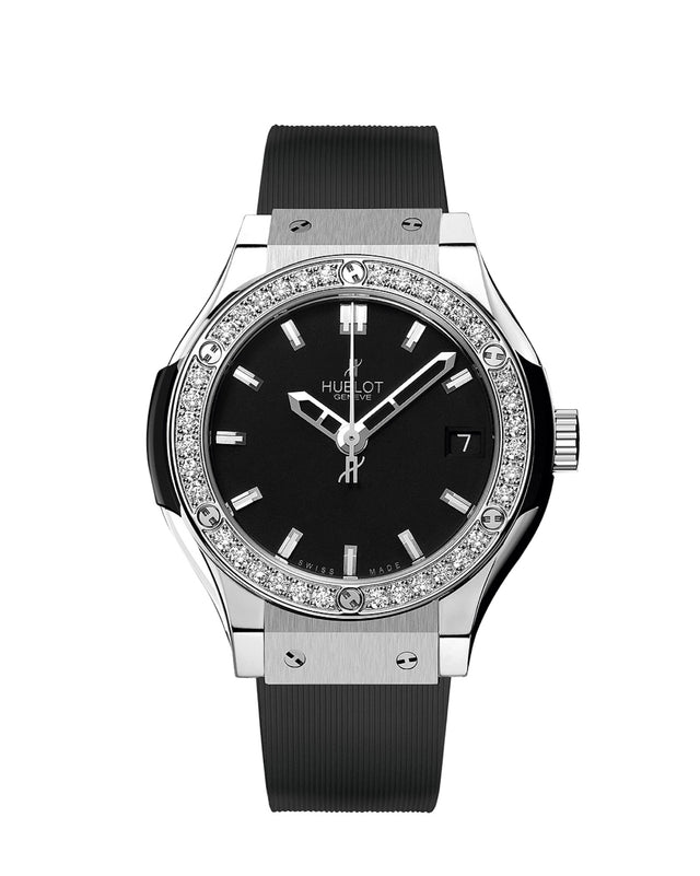 HUBLOT CLASSIC FUSION TITANIUM DIAMONDS 33MM