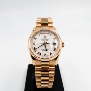 ROLEX DAY-DATE PRESIDENT ROSE GOLD