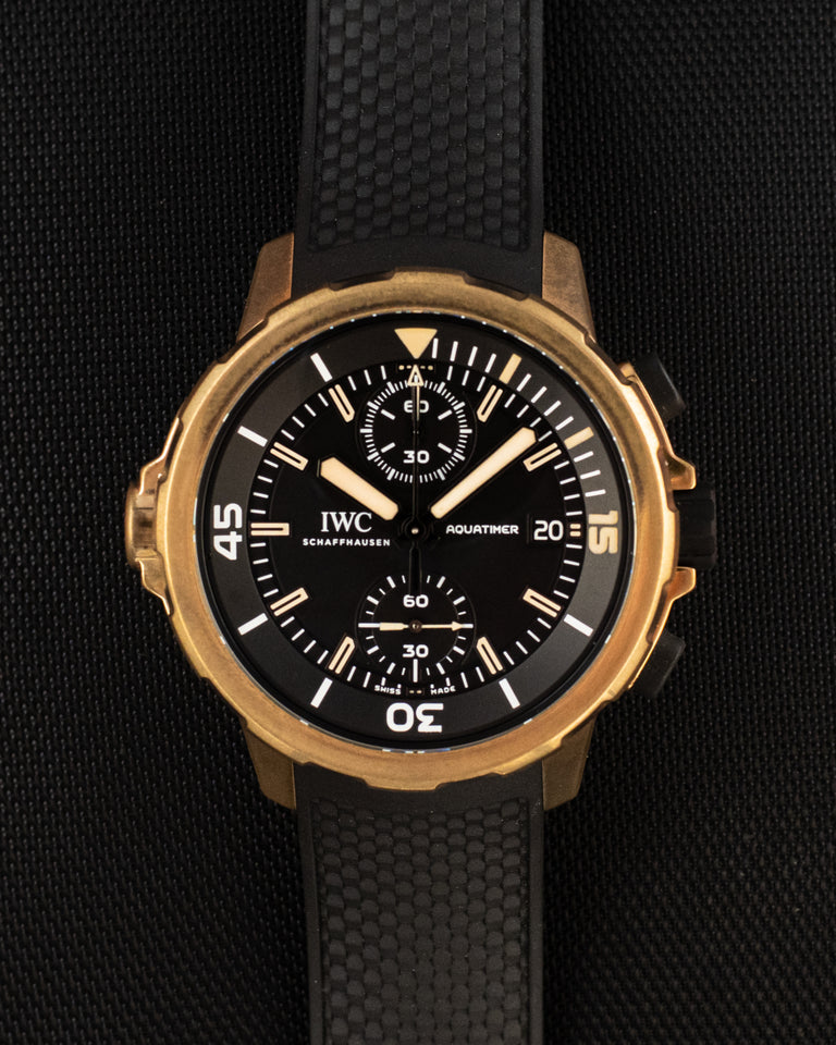 IWC Aquatimer Chronograph Bronze Expedition Charles Darwin
