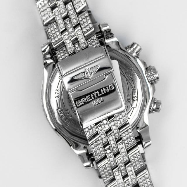 "Breitling Bentley ""Iced out"""