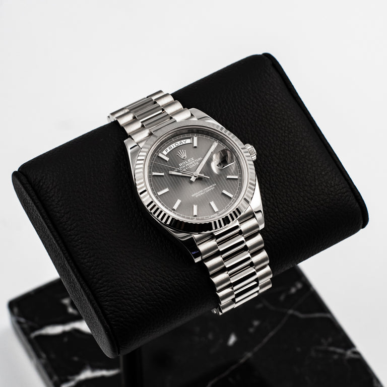 Rolex Day Date II 18k White Gold