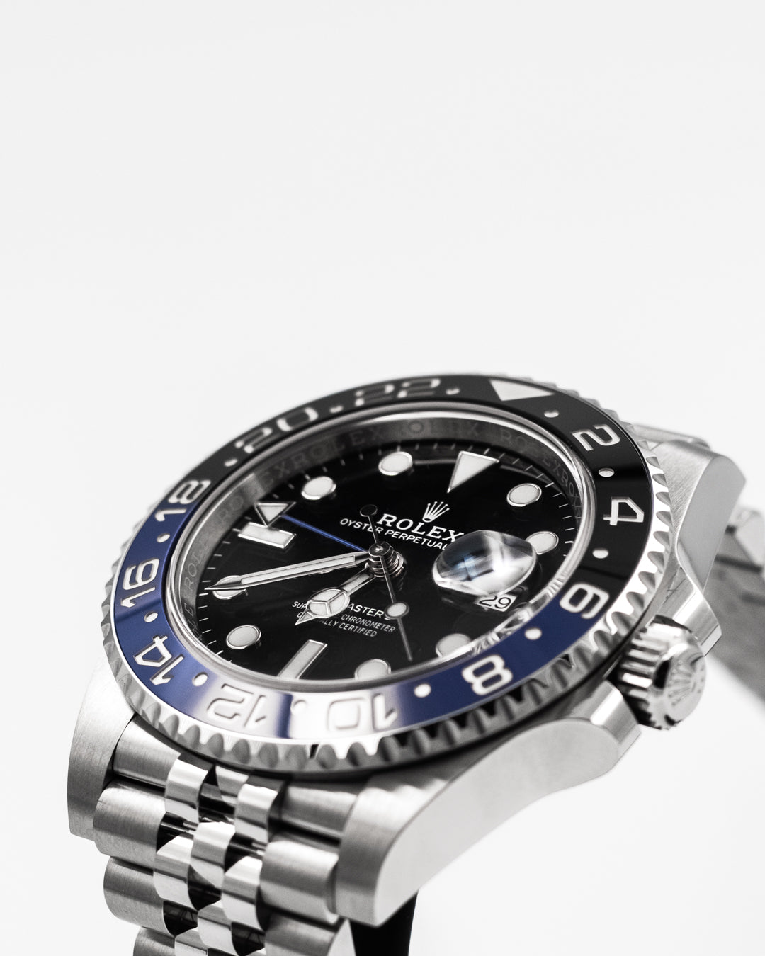 "Rolex GMT ""Batman"" Jubilee"