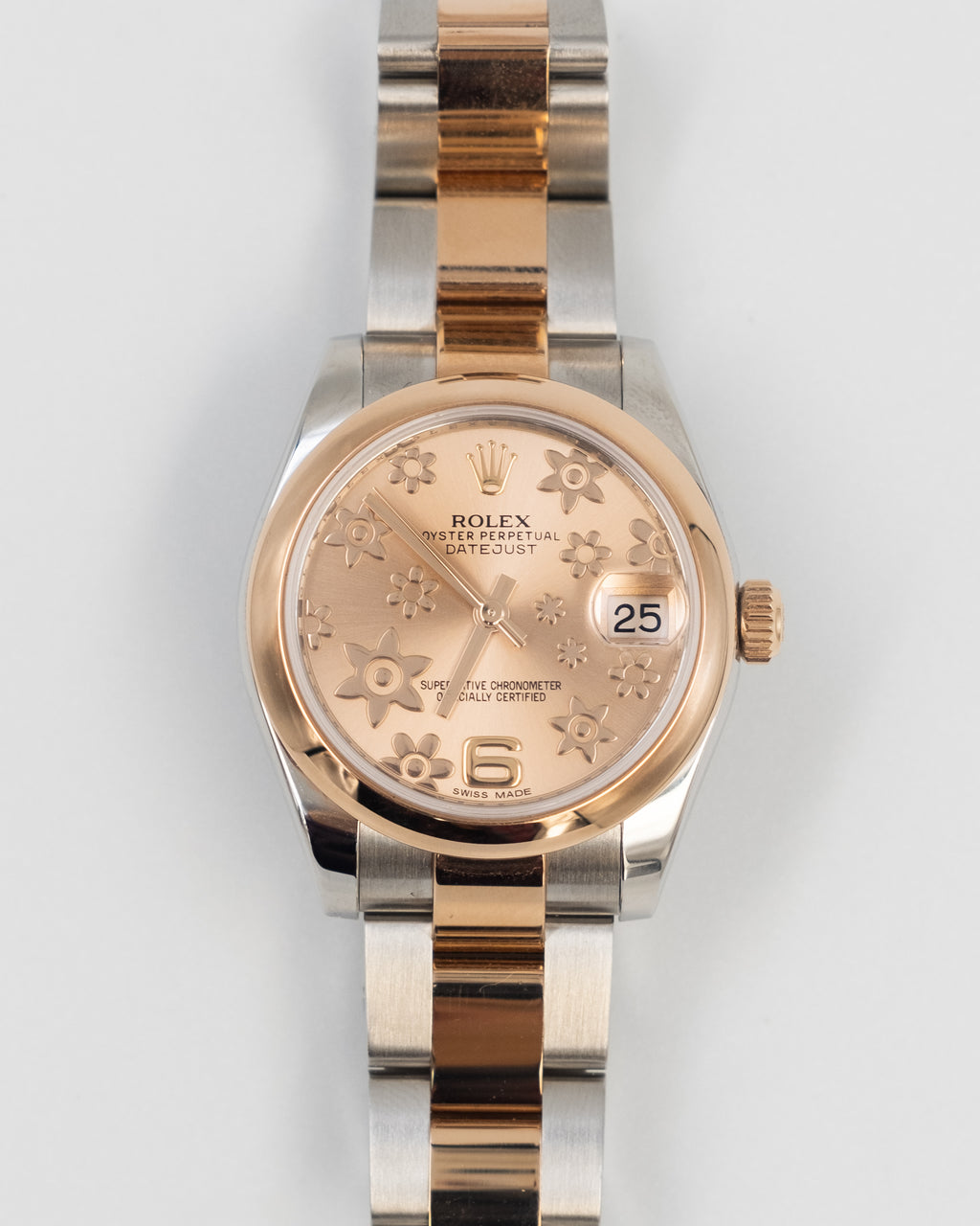 Rolex Date-Just Rose Gold
