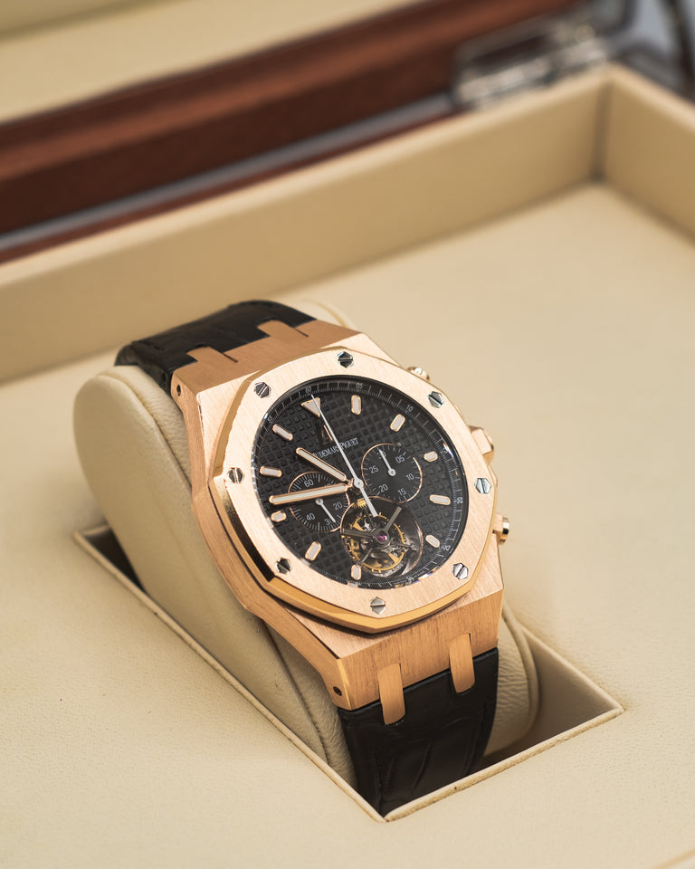 Audemars Piguet Royal Oak Tourbillon Chronograph 18k Rose Gold