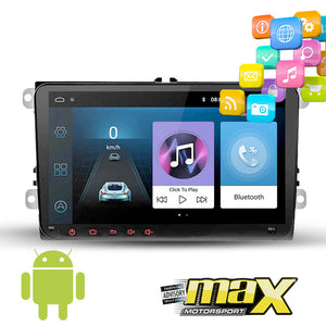 "VW 9"" Android Double Din Multimedia Player & Navigation System"