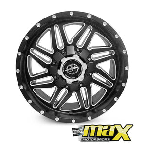 18 Inch Mag Wheel - XF Bakkie Wheels (6x135 - 6x139.7 PCD)