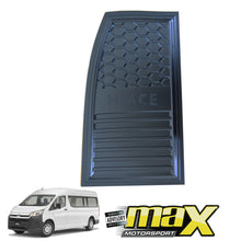 Load image into Gallery viewer, Toyota Hiace (2019-On) Black Fuel Tank Cover